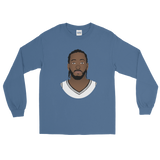 Kawhi So Serious? Long Sleeve T-Shirt