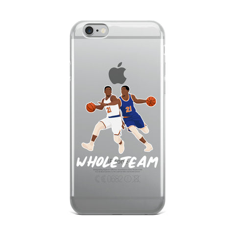 Whole Team iPhone Case
