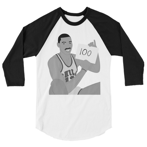 100 Points 3/4 sleeve raglan shirt