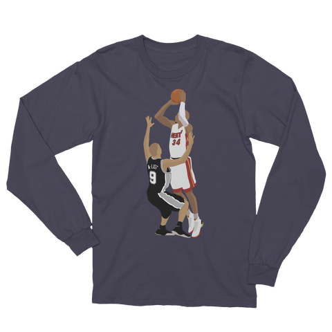 Jesus Shuttlesworth Long Sleeve T-Shirt