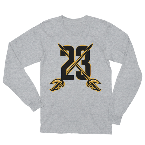 23 Swords Unisex Long Sleeve T-Shirt