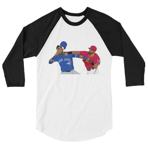 The Fight 3/4 sleeve raglan shirt