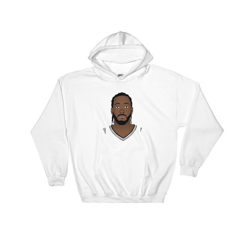 Kawhi So Serious? Hooded Sweatshirt