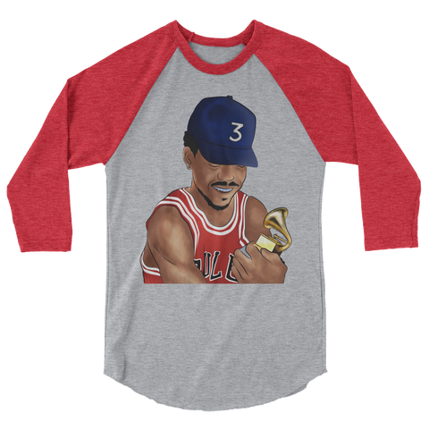 Chance Grammy 3/4 sleeve raglan shirt