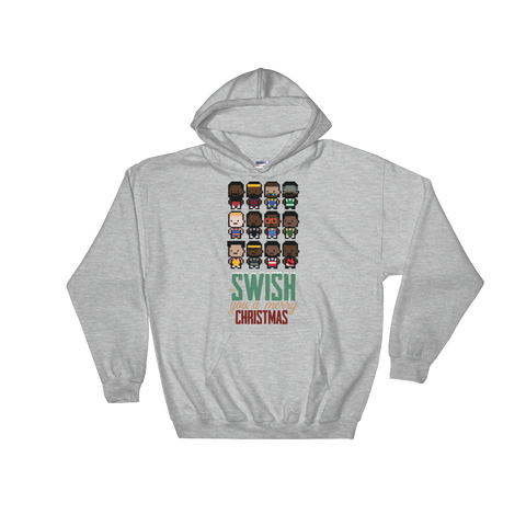 Merry SwishMas Hooded Sweatshirt
