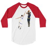 The Shot 3/4 sleeve raglan shirt