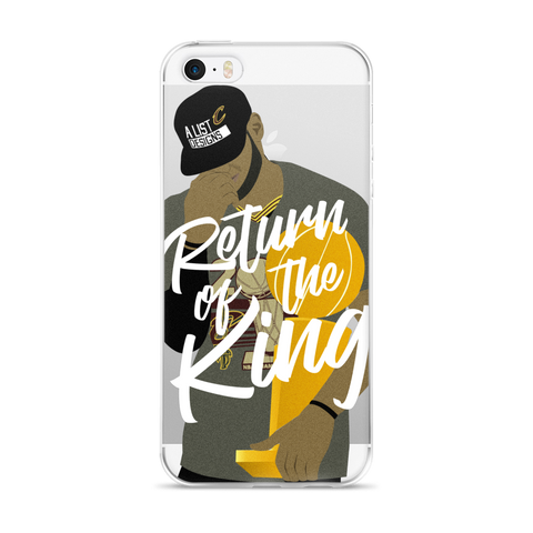 Return of the King iPhone 5/5s/Se, 6/6s, 6/6s Plus Case