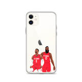 Rockets Power iPhone case