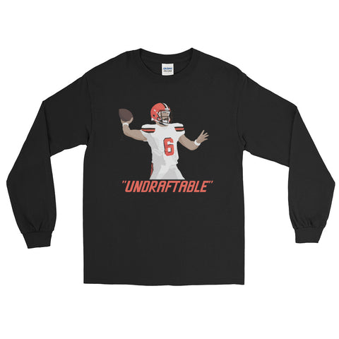 "Baker Mayfield ""Undraftable"" - Long Sleeve T-Shirt"