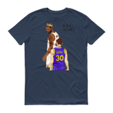 King James Short sleeve t-shirt