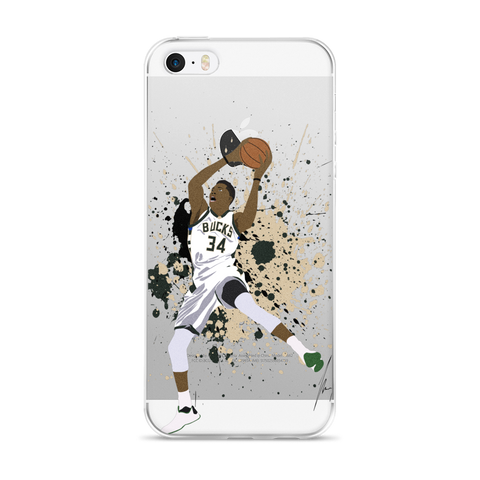 Greek Paint iPhone 5/5s/Se, 6/6s, 6/6s Plus Case