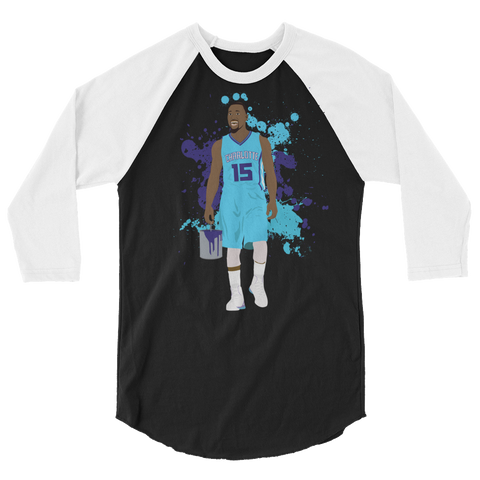 Stinger Paint 3/4 sleeve raglan shirt
