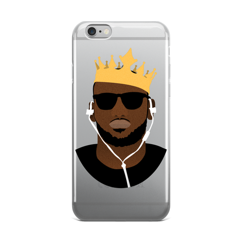 The King's Crown iPhone 5/5s/Se, 6/6s, 6/6s Plus Case