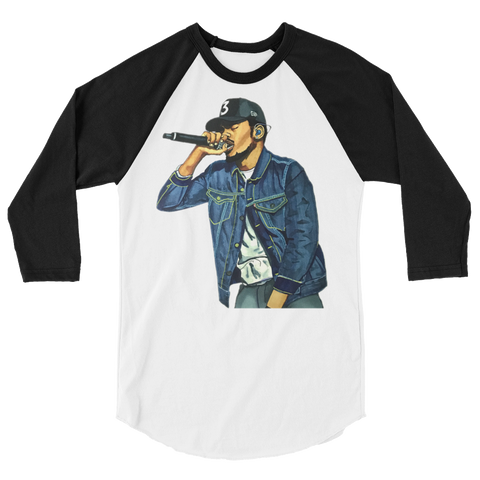 Acid Rapper 3/4 sleeve raglan shirt