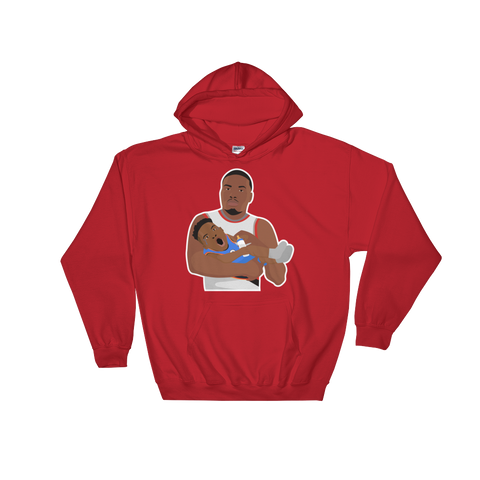 Dame's Baby Hooded Sweatshirt