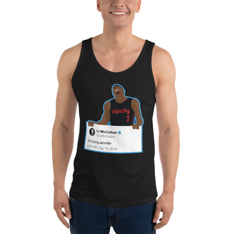 Im Trying Jennifer - Unisex  Tank Top