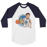 KlayT Cartoon 3/4 sleeve raglan shirt