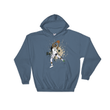 Greek Paint Hooded Sweatshirt