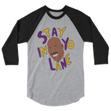 Big Baller 3/4 sleeve raglan shirt