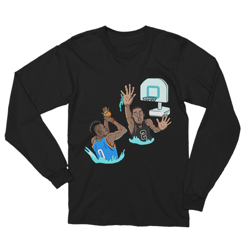 Pool Hoops Unisex Long Sleeve T-Shirt