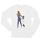 KD over Bron Long Sleeve T-Shirt