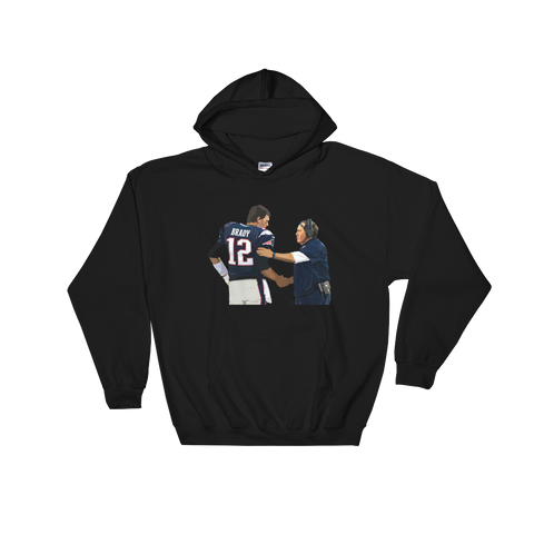 Tom and Bill Hooded Sweatshirt