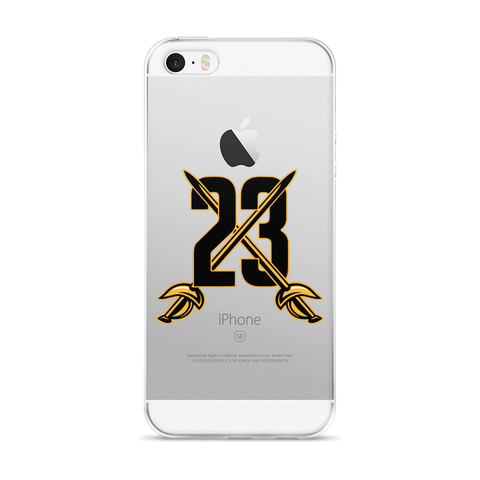 23 Swords iPhone 5/5s/Se, 6/6s, 6/6s Plus Case