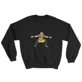 Long Hair-Cheese Sweatshirt