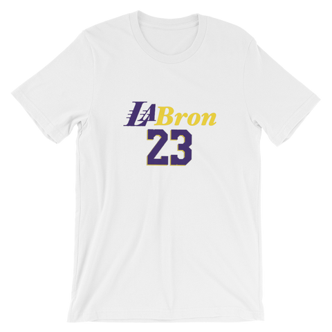 LA Bron - Short-Sleeve Unisex T-Shirt