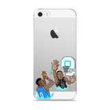 Pool Hoops iPhone 5/5s/Se, 6/6s, 6/6s Plus Case