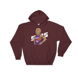 CharlesB Cartoon Hooded Sweatshirt