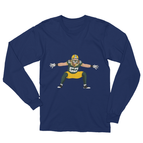 Long Hair-Cheese Long Sleeve T-Shirt