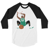 Al Dunk 3/4 sleeve raglan shirt