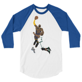 Little Boy! 3/4 sleeve raglan shirt