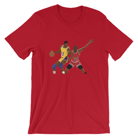 Jordan Vs. Magic - T-Shirt