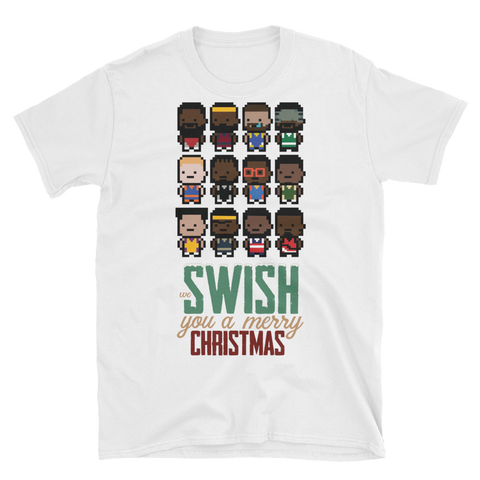 Merry SwishMas Short-Sleeve Unisex T-Shirt