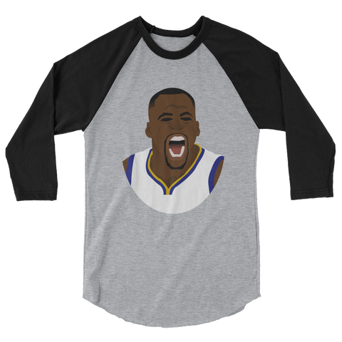 Technical Foul 3/4 sleeve raglan shirt