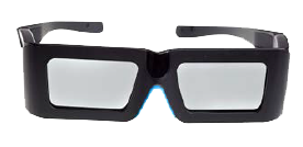 3D Glasses for Virtual Reality by Volfoni