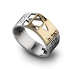 Kabbalah Rings and Traditional Jewish Motifs