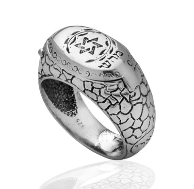 Star of David Kabbalah Ring for Health and Protection by HaAri - HA'ARI JEWELRY Hand-crafted Kabbalah & Jewish jewelry
