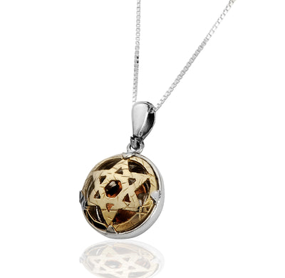 5 Metals Star of David Pendant - HA'ARI JEWELRY Hand-crafted Kabbalah & Jewish jewelry