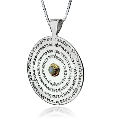 Kabbalah Necklace - The Wheel Necklace– 72 Names - HA'ARI JEWELRY