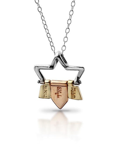 Kabbalah Jewelry Star of David with 72 Names Kabbalah Necklace by HaAri - HA'ARI JEWELRY