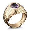 Ana BeKoach Gold Kabbalah Ring for Men by HaAri - HA'ARI JEWELRY Hand-crafted Kabbalah & Jewish jewelry