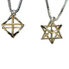 Gold Merchaba Pendant by HaAri Jewelry - HA'ARI JEWELRY Hand-crafted Kabbalah & Jewish jewelry