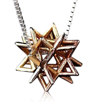 Kabbalah Merkabah Necklace by HaAri | Kabbalah Jewelry - HA'ARI JEWELRY Hand-crafted Kabbalah & Jewish jewelry