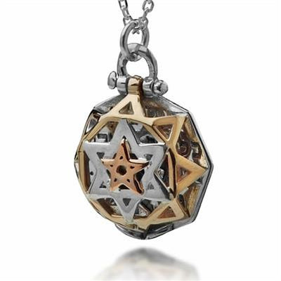 5 Metals Tikun Hava Jewish Necklace by HaAri - HA'ARI JEWELRY Hand-crafted Kabbalah & Jewish jewelry