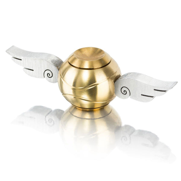 New Golden Angel Snitch Fidget Spinner Cupid Wings