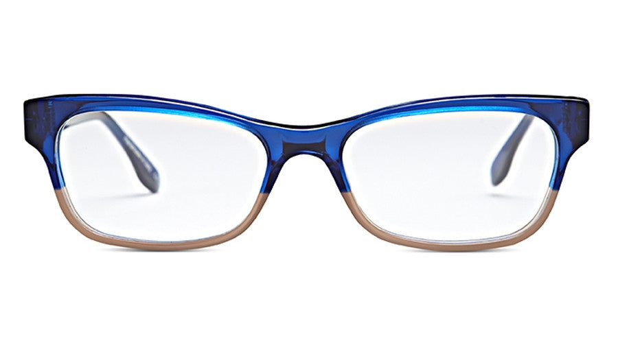 Claire Goldsmith Hope c. Indigo Nude Eyeglasses