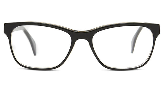 Claire Goldsmith Palmer c. Black Tea Eyeglasses